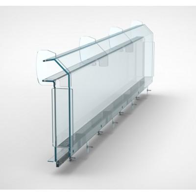 Деталь холодильной витрины